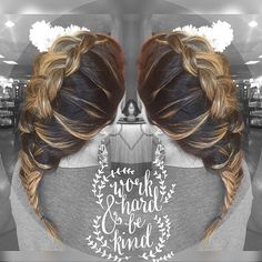 Braided fun!! I love braiding #hair #hairbykaylacastro #braid #braidedhair #hairstyle