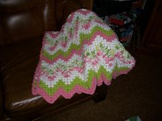 Ravelry: Project Gallery for Granny Ripple Baby Afghan pattern by Lyn's Designs