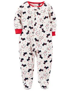 a39c49a98efd Dollie   Me Heart One-Piece Pajama Set matching Pjs for Doll Girls ...