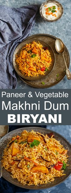 Paneer & Vegetable makhni Dum Biryani
