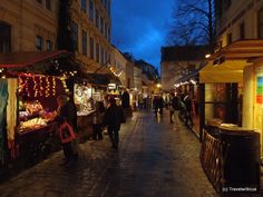 Christmas market at Spittelberg, Vienna