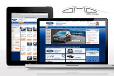 Site eCommerce - DMD groupe (Ford Nantes)
