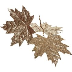 Wilko Let It Glow Glitter Leaf 3pk ($0.93) ❤ liked on Polyvore featuring home, home decor, holiday decorations, leaf home decor, outdoor home decor, outdoor holiday decorations, outside home decor and outdoor holiday decor
