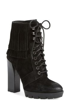 Kenneth+Cole+New+York+'Olla'+Fringe+Bootie+(Women)+available+at+#Nordstrom