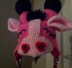 Hooking Rainbows: Sleepy Valentine Giraffe hat FREE Pattern