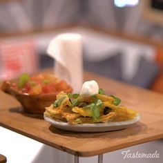 Even tiny nachos can still come loaded.