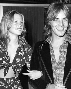 """1,913 Likes, 38 Comments - GroovyHistory (@groovyhistorypics) on Instagram: """"A young Melanie Griffith and Don Johnson in the 70s. #DonJohnson #MelanieGriffith #1970s…"""""""