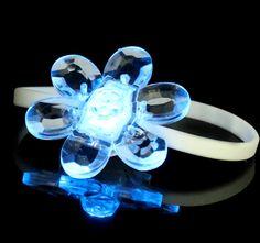 Crystal Flower LED Silicone Bracelet - Shenzhen Greatfavonian Electronic CO., LTD.