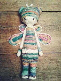 BUZZthe house fly made by Jette K. / crochet pattern by lalylala