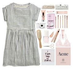 """/i took this in paris"" by ifellinlovetonight ❤ liked on Polyvore featuring Madewell, Prada, Anastasia Beverly Hills, Michael Van Clarke, Monki, Darphin, Christian Dior, Cuisinart, Clinique and Chloé"