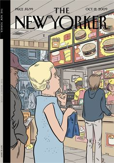 The New Yorker por Daniel Clowes