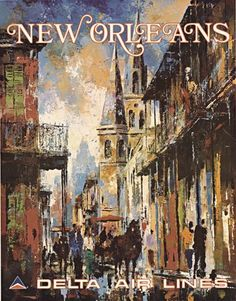 New Orleans • Delta Air Lines ~ Jack Laycox