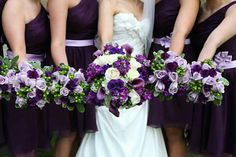 Beautiful bridal bouquets by KMB Florals!