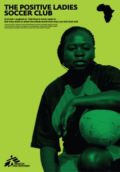 The positive ladies soccer club by two de