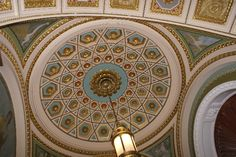 Library of Congress.  A must visit when touring Washington DC.
