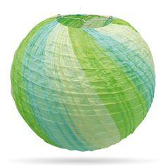 Meerkleurige lampionnen groeblauw van 35 cm, bestel ze hier http://www.candlebagplaza.nl/c-3701057/lampionnen-35-cm-meerkleurig/