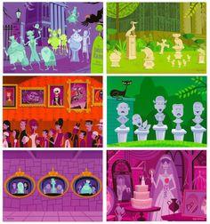 Disney Shag Haunted Mansion Postcard Set in Tin 14pc | eBay