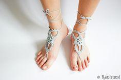 8 Besten Barfußsandale Bilder Auf Pinterest Crochet Barefoot