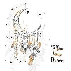 Ornamental Moon Hintergrund – – New Ideas – Franziska – wallpaper Dreamcatcher Wallpaper, Moon Dreamcatcher, Dreamcatchers, Doodle Drawings, Art Drawings Sketches, Doodle Art, Dream Catcher Drawing, Dream Catcher Tattoo, Dream Catcher Quotes