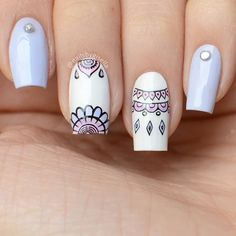 Hottest Gel Nail Art Designs for 2019 Square Acrylic Nails, Square Nails, Hair And Nails, My Nails, American Nails, Short Gel Nails, Gel Nagel Design, Gel Nail Art Designs, Fire Nails