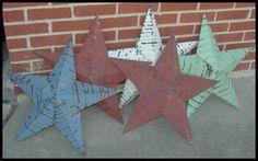 Amish Tin Barn Stars