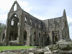 """Tintern Abbey is a ruin in England that Woodsworth became inspired to write his poem """"Tintern Abbey"""""""