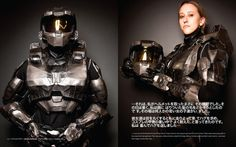 what is the Halo character was a Girl?