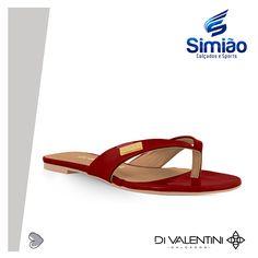 Rasteira Di Valentini , na Loja Simião Calçados .  ♥