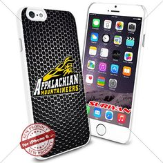 New iPhone 6 Case Appalachian State Mountaineers Logo NCAA #1026 White Smartphone Case Cover Collector TPU Rubber [Black Net] SURIYAN http://www.amazon.com/dp/B01504C2X8/ref=cm_sw_r_pi_dp_k.8zwb0YMQKCD