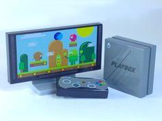 Playbox - Video Games Console Custom Printed onto LEGO