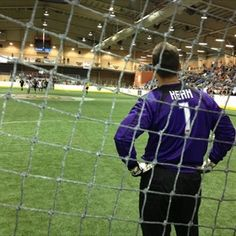 Harrisburg goalkeeper Dave Kern watches the action against Detroit on December 15, 2012 at the PA Farm Show. (Jason Bristol, CBS 21 News)