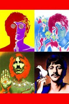 Beatles faces iPhone 5 wallpaper iPhone X Wallpapers