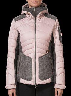 Classy women's ski jacket with hood... http://shop.luistrenker.com/en/boutique/women/jackets/jana/71-5540.html