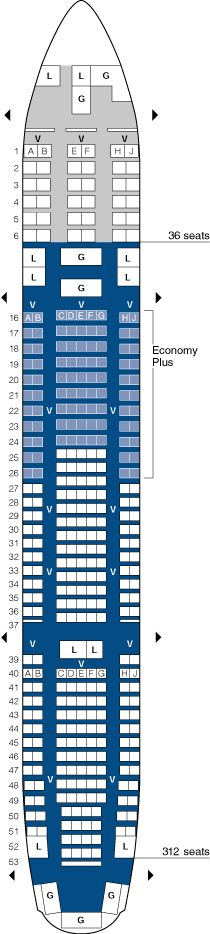 united airlines boeing 767 200 seating map aircraft chart. Black Bedroom Furniture Sets. Home Design Ideas