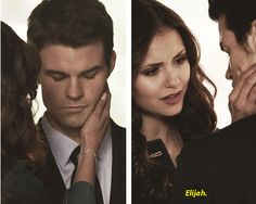 Katherine Pierce and Elijah Mikaelson. I really wanted them to live happily ever after.