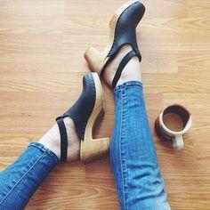 sven-clogs:  Halter Top Clogs @prettylittlefawn #haltertop #blacknubuc #highheels #sandals #clogs #sven #svenclogs @svenclogs #shoestagram #shoeshopping #instafashion #fashion