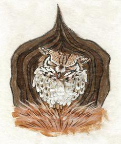 'Owl' by Andrea Gerstmann