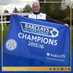 Leicester City's Premier League win 2016 -  Manager Claudio Ranieri