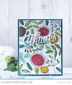 MFT May Sketchy Flowers Card Kit Release   RejoicingCrafts