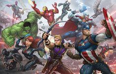 Marvel comics, spider-man, art, fictional character, superhero wallpaper in Marvel Dc, Marvel Avengers Comics, Marvel Avengers Assemble, Hulk Avengers, Marvel Heroes, Clint Barton, Loki, Thor, Captain America
