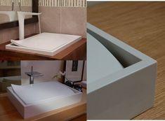rechteckiger Waschbecken mit gesenktem Siphon - Lotus von Sono Bath