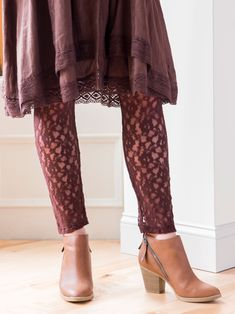 Fabulous NEW signature April Cornell clothing, kids' wear, and linens for a beautiful home Lace Leggings, Best Leggings, Girls Wear, Women Wear, Victorian Blouse, April Cornell, Look Thinner, Affordable Fashion, Women's Fashion Dresses