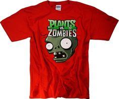 Plants vs Zombies 2 T-Shirt Youth Plush Toys Merchandise Clothing Apparel: Amazon.co.uk: Clothing
