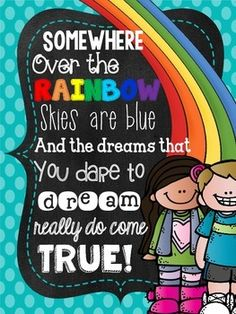 These posters can be displayed in your classroom, on a bulletin board or in the hallway... anywhere you want to add some color and inspiration. They especially look cute framed and hanging with a colorful ribbon!  Interested in other items with this theme?