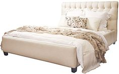 cobble hill carlyle tufted bed - ABC Carpet & Home