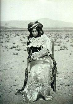 Le portrait d'une femme kurde du sud du Kurdistan.