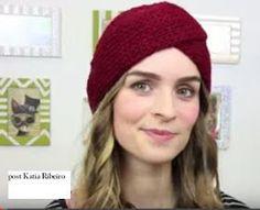 Turbantes em Crochê com Vídeo