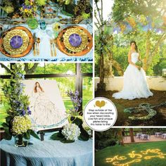 Watercolor inspired wedding styled shoot by The Fairy Godmothers Weddings & Events for Bliss Bridal Magazine Summer 2013 #ATX