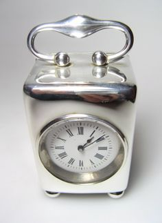 Silver Carriage Clock More Pins Like This At : FOSTERGINGER @ Pinterest.