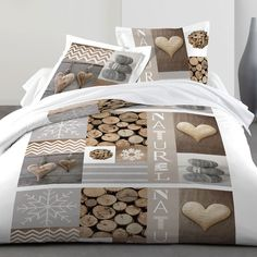 Parure de lit Wood 100% coton : Vue catalogue